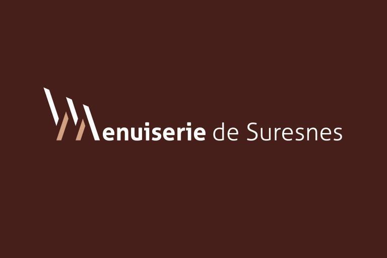 Nouveau logo Menuiserie de Suresnes