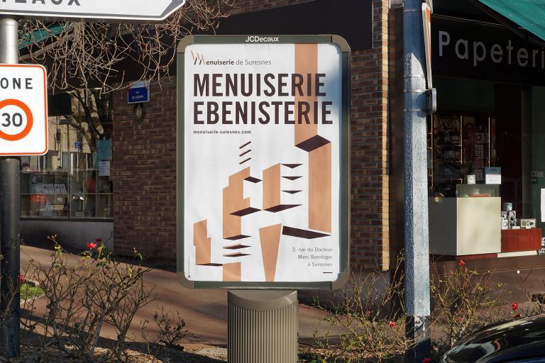 Affiche Menuiserie de Suresnes